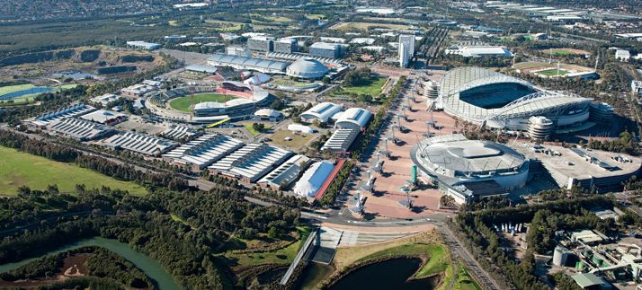 Sydney Olympic Park Survey